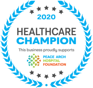 Peace Arch Hospital Healthcare Champion